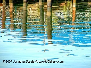 water, harbor photo, water photo, blue water, harbor reflections, jonathan steele photography